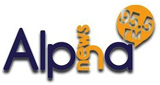logo ραδιοφωνικού σταθμού Alpha News