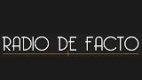 logo ραδιοφωνικού σταθμού De Facto