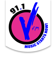 logo ραδιοφωνικού σταθμού V FM
