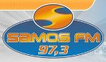 logo ραδιοφωνικού σταθμού Σάμος FM