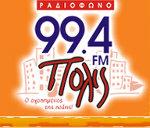 logo ραδιοφωνικού σταθμού Ράδιο Πόλις