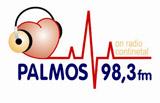 logo ραδιοφωνικού σταθμού Palmos Κεφαλλονιάς