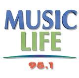 logo ραδιοφωνικού σταθμού Music Life