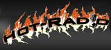 logo ραδιοφωνικού σταθμού Hot-Radio