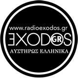 logo ραδιοφωνικού σταθμού Radio Exodos