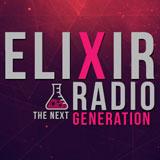 logo ραδιοφωνικού σταθμού Elixir-Radio
