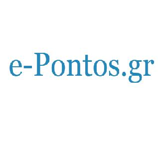 logo ραδιοφωνικού σταθμού e-Pontos Radio