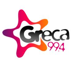 logo ραδιοφωνικού σταθμού Greca FM