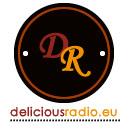 logo ραδιοφωνικού σταθμού DELICIOUS RADIO