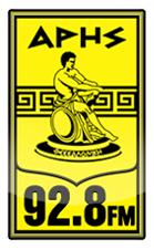 logo ραδιοφωνικού σταθμού ΑΡΗΣ FM