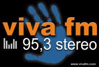 logo ραδιοφωνικού σταθμού Viva FM
