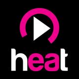 logo ραδιοφωνικού σταθμού Heat Radio