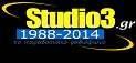 logo ραδιοφωνικού σταθμού Studio3 (πρώην Radio Faros)