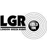 logo ραδιοφωνικού σταθμού London Greek Radio