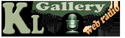 logo ραδιοφωνικού σταθμού KL Gallery Radio