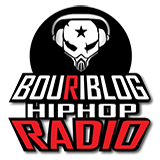 logo ραδιοφωνικού σταθμού Bouriblog Hip Hop Radio