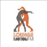 logo ραδιοφωνικού σταθμού Lounge Motion FM