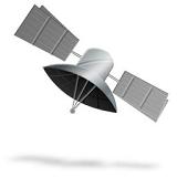 logo ραδιοφωνικού σταθμού Ράδιο Δορυφόρος