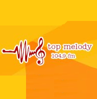 logo ραδιοφωνικού σταθμού Top Melody