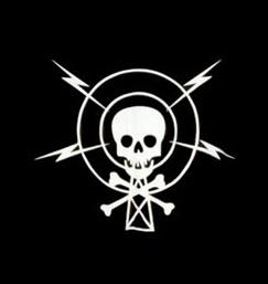 logo ραδιοφωνικού σταθμού Πειρατικός FM