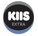 logo ραδιοφωνικού σταθμού Kiss Extra Κορινθίας