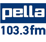 logo ραδιοφωνικού σταθμού Πέλλα FM