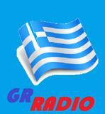 logo ραδιοφωνικού σταθμού GR RADIO