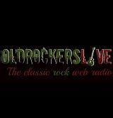 logo ραδιοφωνικού σταθμού Oldrockers live Radio