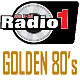 logo ραδιοφωνικού σταθμού Radio1 GOLDEN 80s