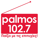 logo ραδιοφωνικού σταθμού Palmos Radio