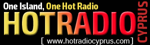 logo ραδιοφωνικού σταθμού Hot Radio Cyprus