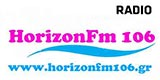 logo ραδιοφωνικού σταθμού Horizon 106