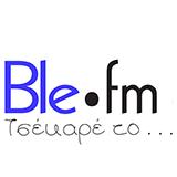 logo ραδιοφωνικού σταθμού Ble.fm