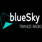 logo ραδιοφωνικού σταθμού Blue Sky Trance Radio